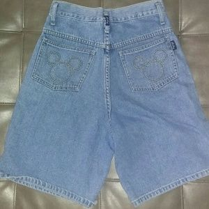 673b54c580 Mickey Unlimited by Jerry Leigh Shorts - S Vintage 90s Mickey Mouse Jean  Shorts disney